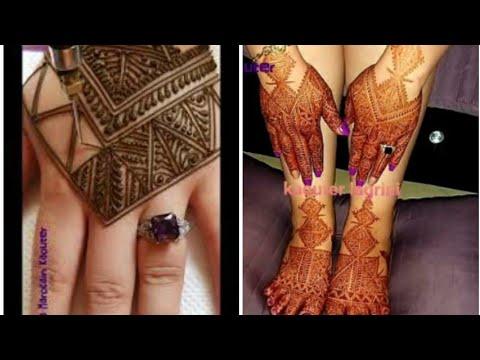 الحناء المغربية التقليدية (الفاسيي) همي ومتقون للعروس💗❤💗 Traditional Moroccan henna (El Fassi) - New Henna Marocain kaouter