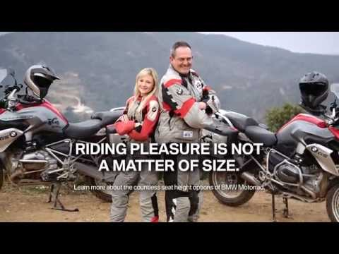 Riding pleasure is not a matter of size