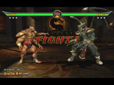 Mortal Kombat Armageddon - Goro Arcade Ladder