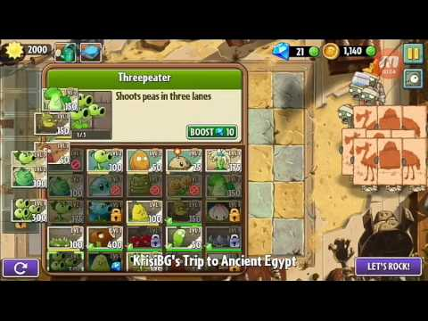 How to win Ancient Egypt Day 18 ! (2 whit strong army (tested ) Can win whit only peashooter army ?