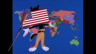 yakko warner all countries but by an american.