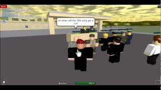 Discurso de Roblox USM CommandoCarter
