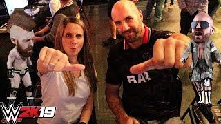 WWE2K19 Playing with Cesaro!! BIG HEAD + INDIE ARENA