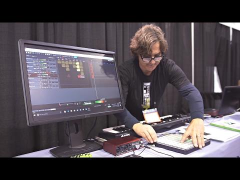 Mixcraft 8 Pro Studio @ NAMM 2017