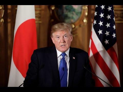ترامب أول زعيم أجنبي يلتقي ولي عهد اليابان  - نشر قبل 2 ساعة