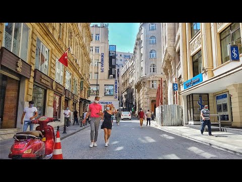 Walking Reopened Istanbul | Streets of Sirkeci & Eminönü 2020