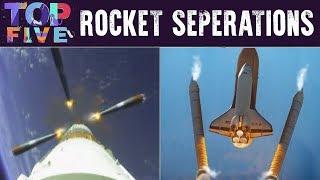 Top 5 Cool Rocket Seperations