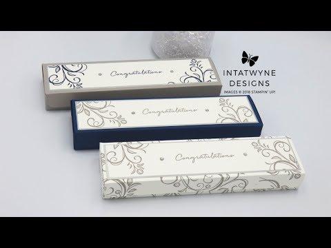 Handmade Fold Flat Bracelet Gift Box