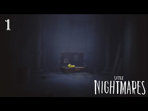 Little Nightmares 100% Complete Walkthrough Part 1 - The Prison