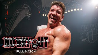 FULL MATCH - Brock Lesnar vs. Eddie Guerrero - WWE Title Match: WWE No Way Out 2004