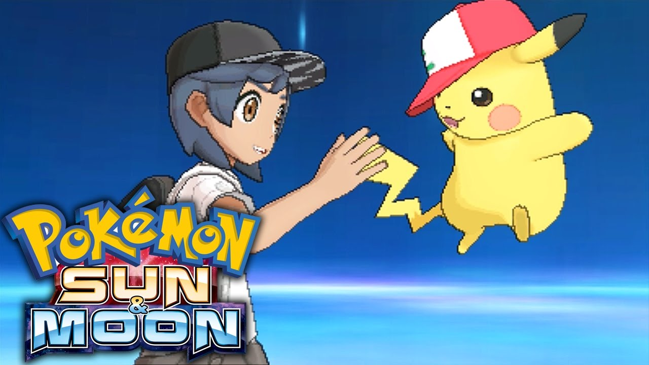 All Ash Pikachu Forms & EXCLUSIVE Z-Moves! Mystery Gift Event ...