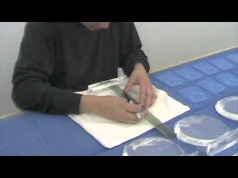 Sandblasting Demonstration By Crystal Plus Online Awards, Trophies and Gifts Shop