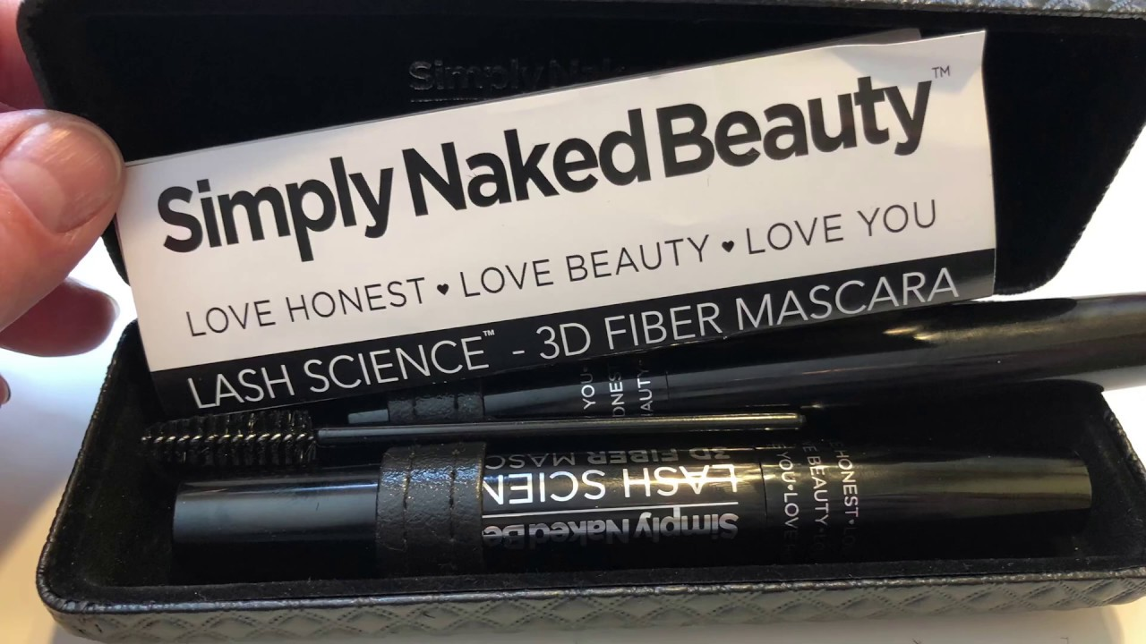 34ca4a3dd5f Simply Naked Beauty 3D fiber lashes - YouTube