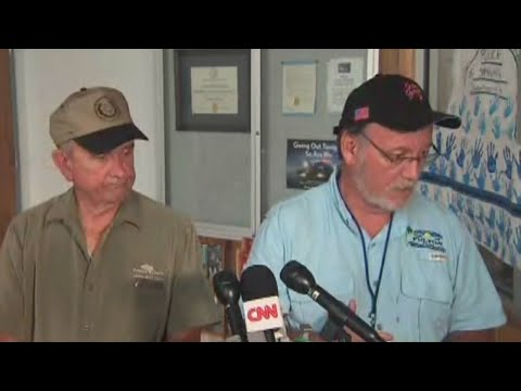First Rockport news conference since Hurricane Harvey moved through
