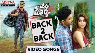 Naa Peru Surya Naa illu India Back to Back Video Songs| Allu Arjun, Anu Emmanuel