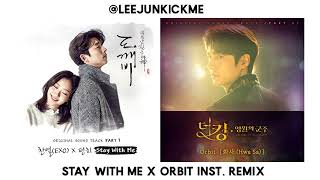 Stay With Me (Goblin OST) x Orbit (The King: Eternal Monarch OST) Instrumental Remix