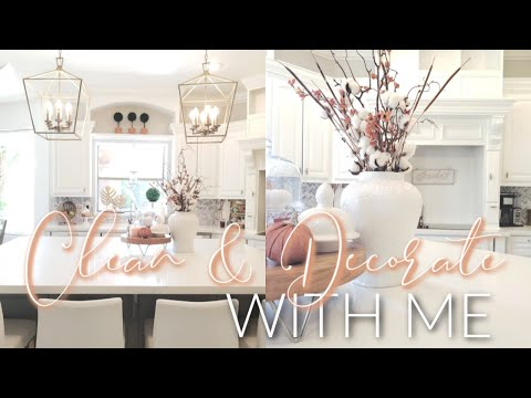 FALL CLEAN & DECORATE || KITCHEN & DINING ROOM FALL 2019