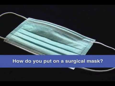 Wearing Mask Surgical Your Correctly You Are