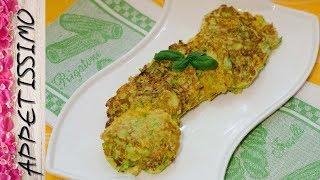 Полезные оладьи из кабачков без муки / Flourless Marrow Fritters