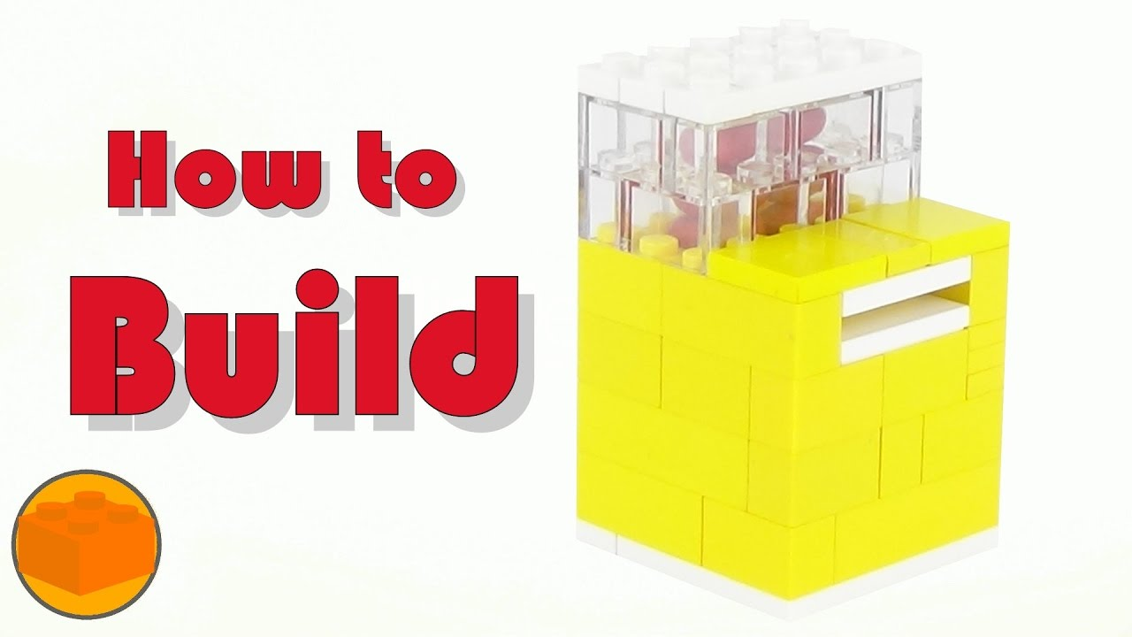 How To Build a MiNi LEGO Tic Tac Candy Machine - YouTube