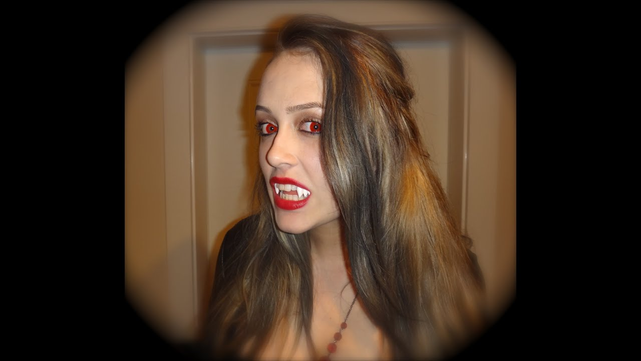 How to look like a vampire. Vampire in the modern world 96