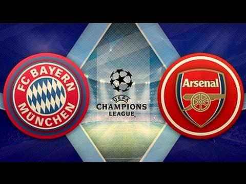 Bayern München 5-1 Arsenal. UEFA Champions League