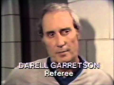 NBA Referee Darrell Garretson (April 27, 1980)