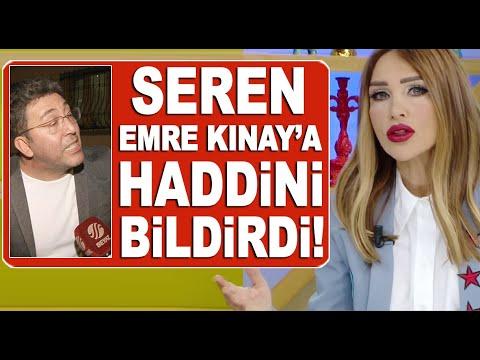 Seren Serengil, Beyaz Tv'ye dil uzatan Emre Kınay'a haddini bildirdi!