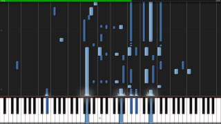 When You Wish Upon A Star - Pinocchio [Piano Tutorial] (Synthesia)