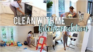 Clean With Me: Kitchen Edition | Speed Cleaning!!