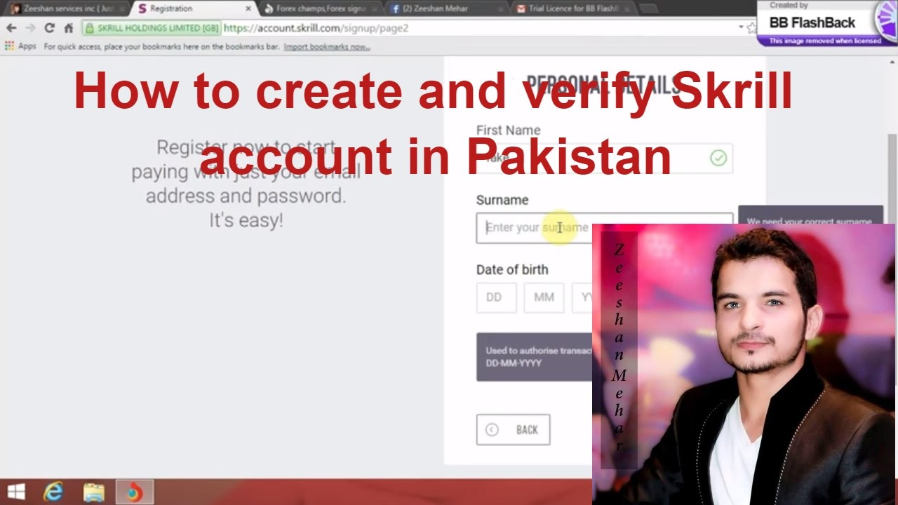 About forex account verification