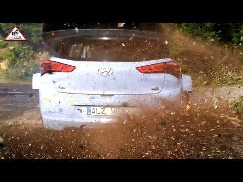 Super Neuville Test Hyundai i20 WRC Catalunya 2016 Passats de canto