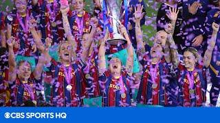 Women's Champions League Final Highlight and Recap [CHELSEA VS BARCELONA] | CBS Sports HQ