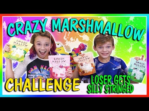 CRAZY MARSHMALLOW TASTING CHALLENGE   LOSER GETS SILLY STRINGED   We Are The Davises
