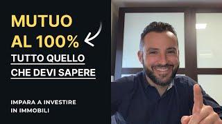 MUTUO PRIMA CASA AL 100% , Come Funziona
