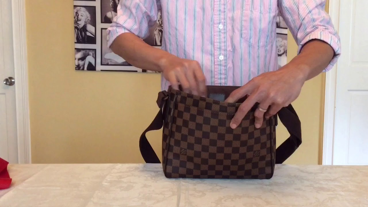 Louis Vuitton Collection District PM Damier Ebene - YouTube d476fcdcba