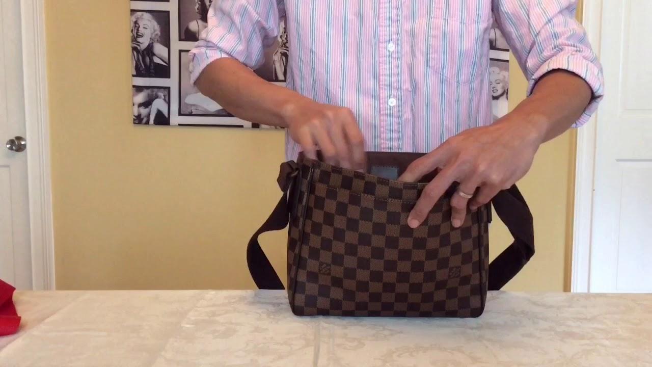 d01d919dc37 Louis Vuitton Collection District PM Damier Ebene