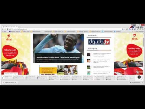 Online Business Plan - Swahili Version