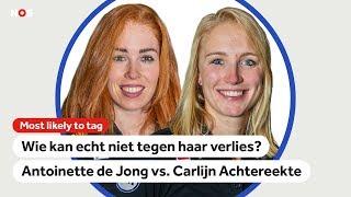 """""""Carlijn heeft de slechtste muzieksmaak: ABBA enzo, alles komt voorbij."""