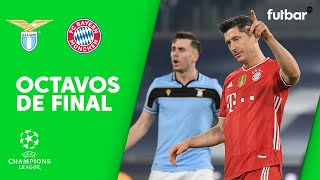 LAZIO 1-4 FC BAYERN - RESUMEN 1/8 DE FINAL DE CHAMPIONS LEAGUE