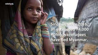 ReliefWeb Topics page tracks Bay of Bengal displacement, migration