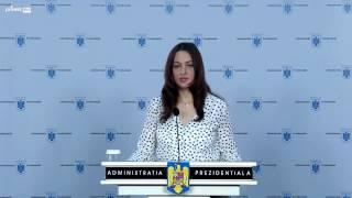 Declarație de presă susținută de purtătorul de cuvânt al președintelui României,...