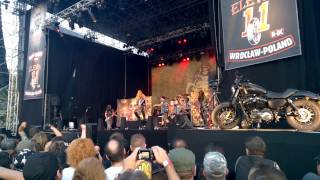 Black Label Society - Zakk Wylde - Suicide Messiah Wroclaw Eleven Bike Fest 2015