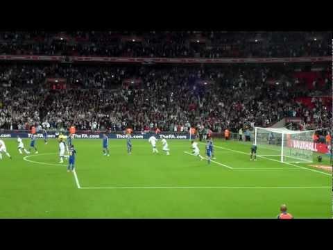 England 1-1 Ukraine - a typical Frank Lampard goal (1080p HD)