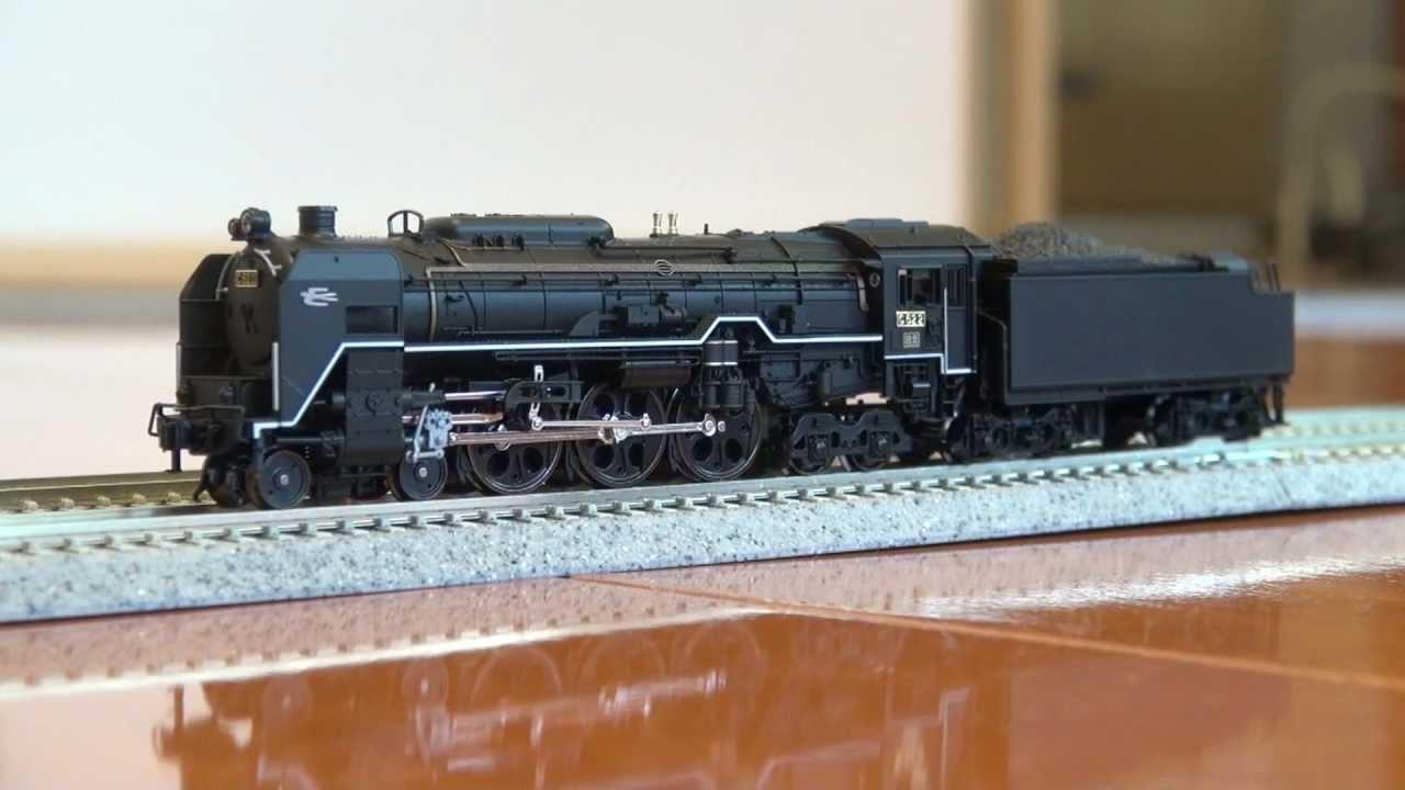 Nゲージ鉄道模型 サウンド付?KATO C62 2号機北海道形 - YouTube