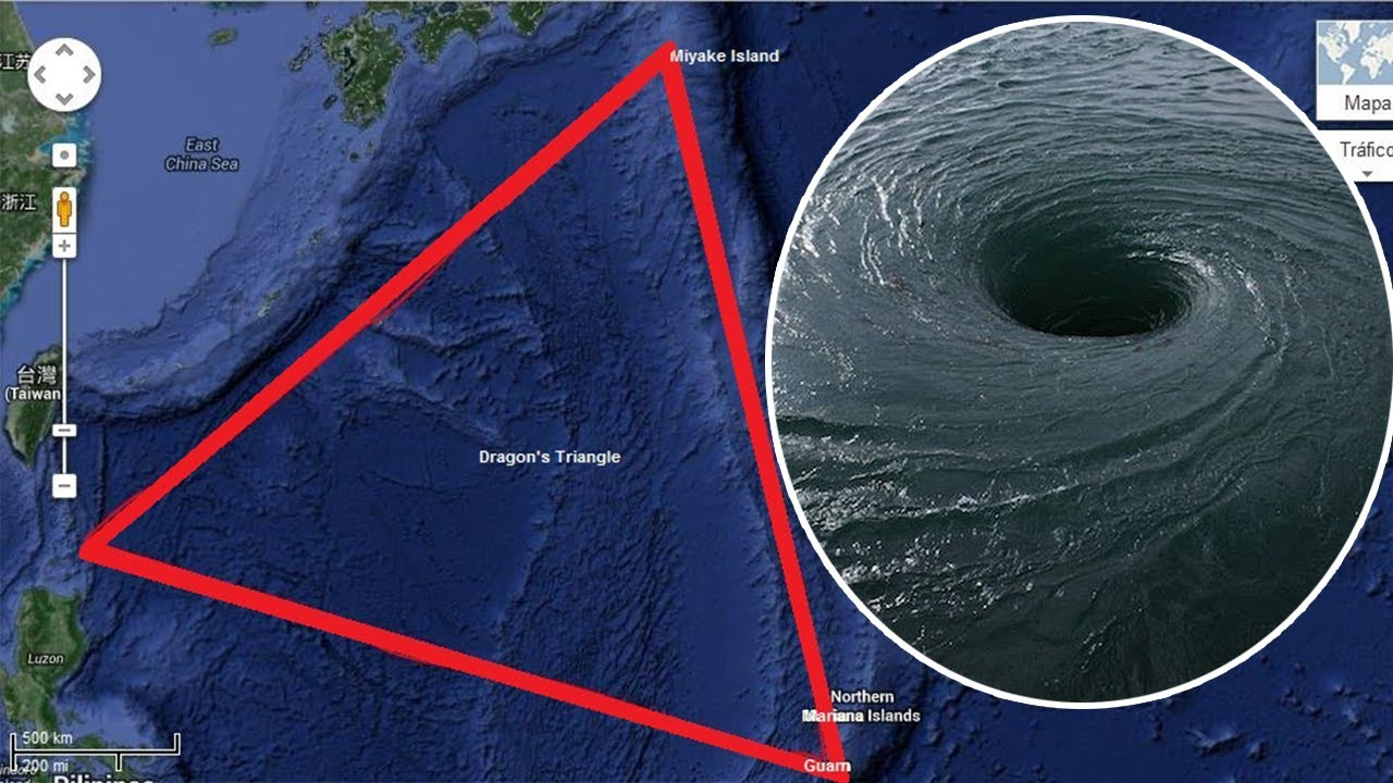Unexplained Mystery: The Devil's Sea (The Dragon's Triangle) on world map circles, world map oval, world map circuit, world map flipped, world map circular, world map highlighted, world map button, world map shaded, world map outline, world map connected,