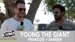 B-Sides On-Air: Interview - Young The Giant (Sameer & Francois) at Austin City Limits 2016