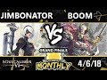 Download Video BnB 11 Soul Calibur VI - Jimbonator (2B) Vs. Boom [L] (Yoshimitsu) - SCVI Grand Finals MP4,  Mp3,  Flv, 3GP & WebM gratis