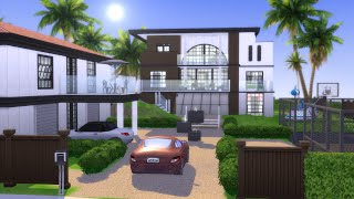 8 SIM MANSION   The Sims 4   Speed Build   NO CC