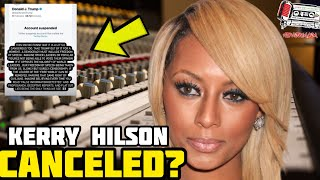 The Walls Collapse Around Kerry Hilson After Her Tweet About Donald Trump Today!